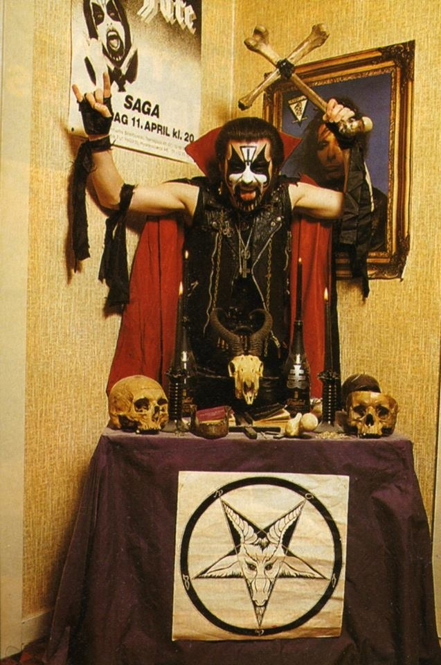 """KING DIAMOND INTERVIEW: """"I DATED ONE OF ANTON LAVEY\'S DAUGHTERS ..."""