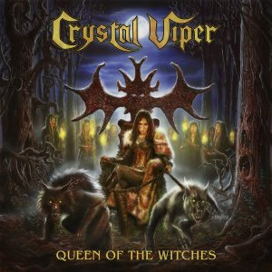 CRYSTAL VIPER - Queen Of The Witches cover